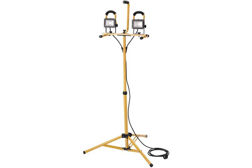 Reflektor LED 2 x 10 W na stojanu Tripod Extol
