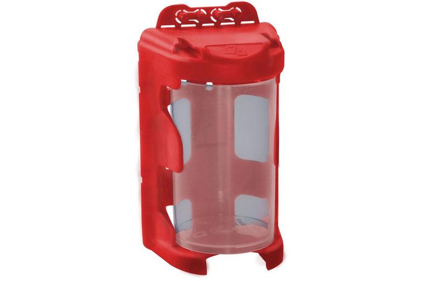 Organizér modulový, 1 modul, červený, 60 x 92 mm , závěsný, Extol Craft