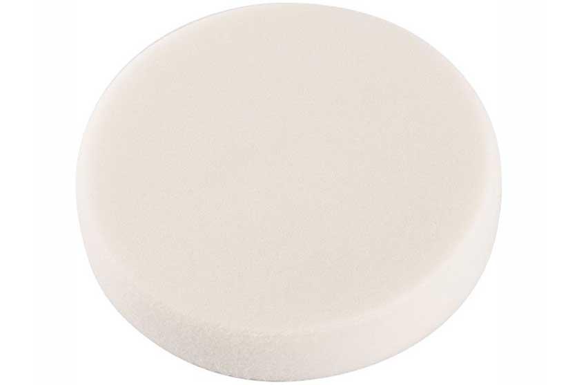 Kotouč leštící pěnový T20, bílý, 150x30mm, suchý zip