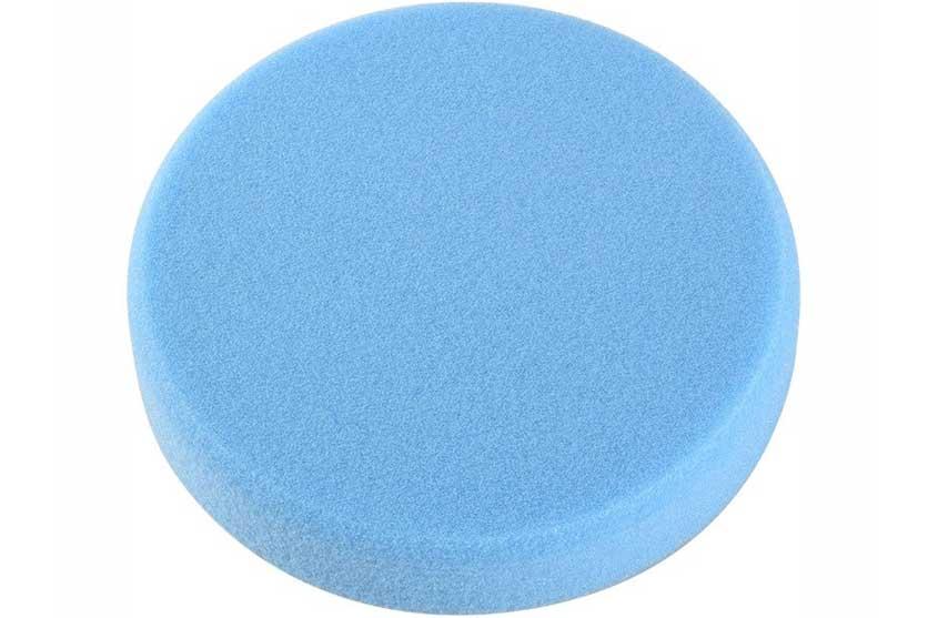Kotouč leštící pěnový T60, modrý, 150x30mm, suchý zip
