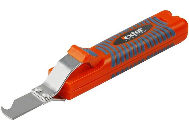 Nůž  na odizolování kabelů EXTOL PREMIUM (typu JOKARI)