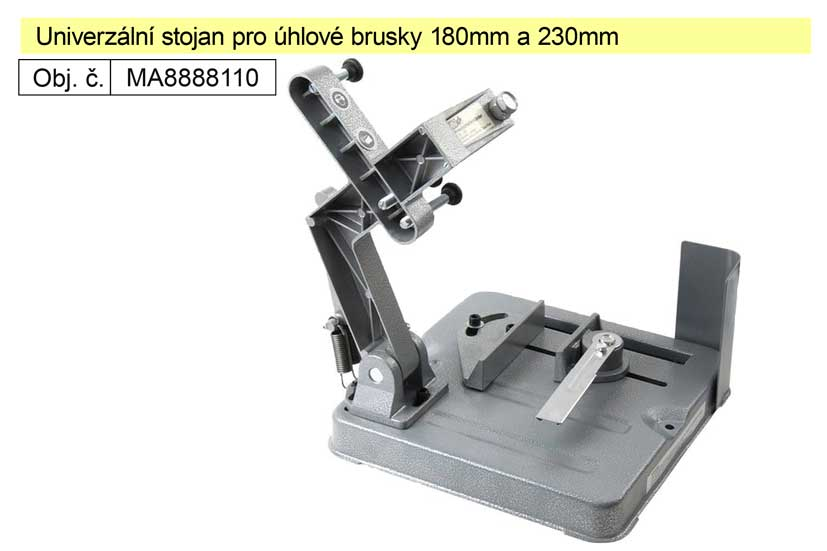 Univerzální stojan pro úhlové brusky 180mm a 230mm MA8888110 Nářadí-Sklad 2 | 3,5 Kg