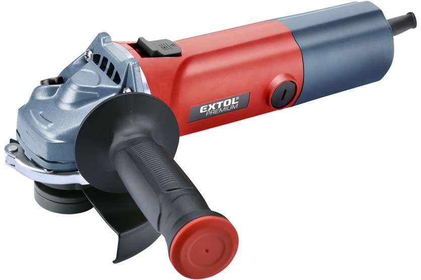 Bruska úhlová Extol Premium 125mm 850W s regulací otáček
