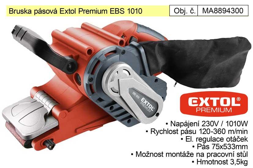 Bruska pásová 1010 W Extol Premium EBS 1010 8894300