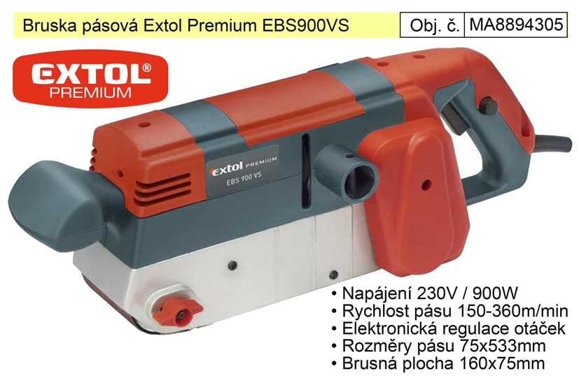 Bruska pásová Extol Premium EBS 900 8894305