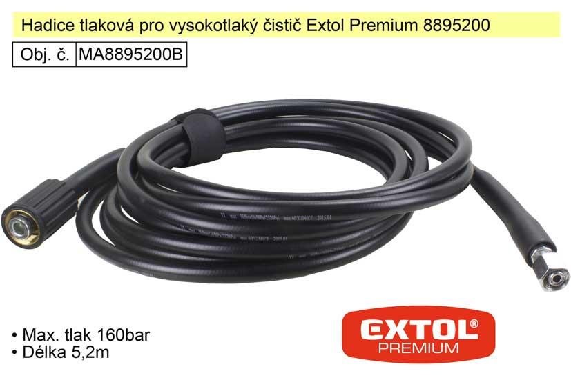 Hadice tlaková pro vysokotlaký čistič Extol Premium 8895200 Nářadí 0.569Kg MA8895200B