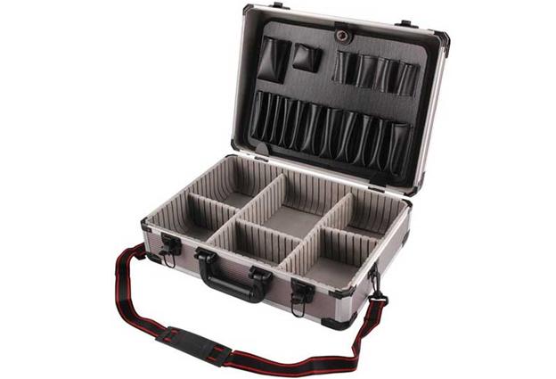 Kufr hliníkový 450x330x150mm vhodný na nářadí 9700
