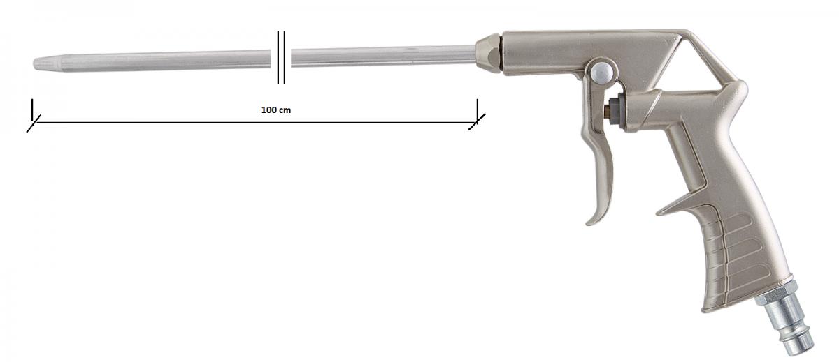 InAirCom vzduchová ofukovací pistole A5 s tryskou 1000 mm
