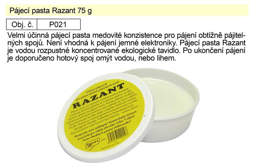 Pájecí pasta Razant 75 g