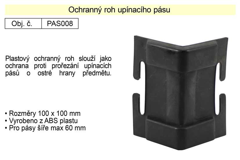 Ochranný roh upínacího pásu šíře 100 mm