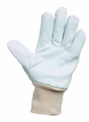 PELICAN PLUS - pracovní rukavice kozinka kombinované velikost 8