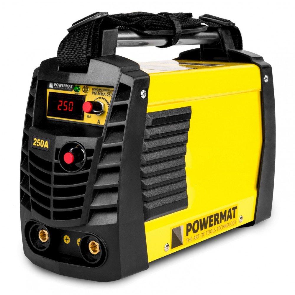 Invertorová svářečka 250A IGBT PM-MMA-250SP POWERMAT