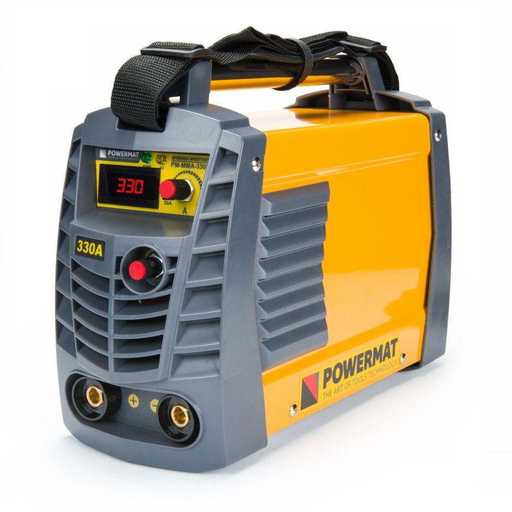 POWERMAT PM-MMA-330SP Invertorová svářečka 330A IGBT