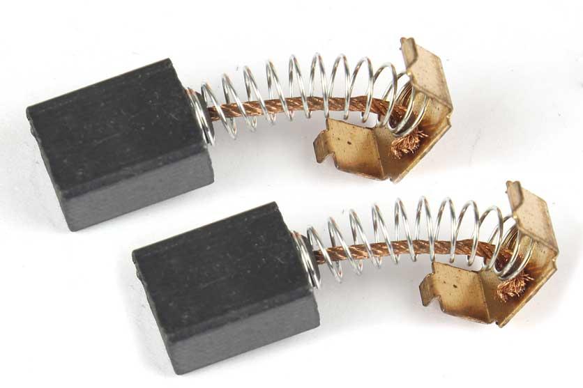 Uhlíky - uhlíkové kartáče  k elektrickému nářadí 6x10x12mm (sada 2kusy) Nářadí 0.02Kg S18005