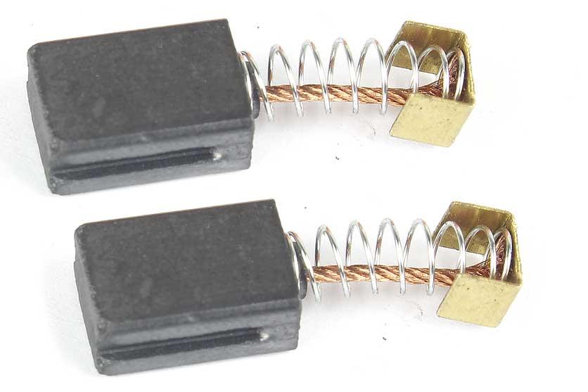 Uhlíky - uhlíkové kartáče  k elektrickému nářadí 6x10x14mm (sada 2kusy) - S18006