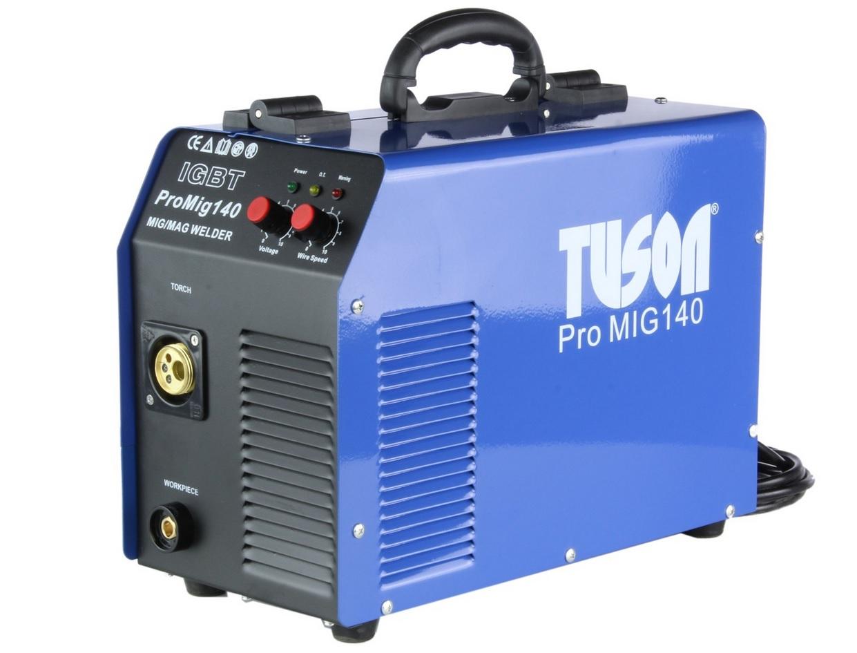 TUSON - Poloautomatická svářečka CO2 LIBRA 140 MIG/MAG