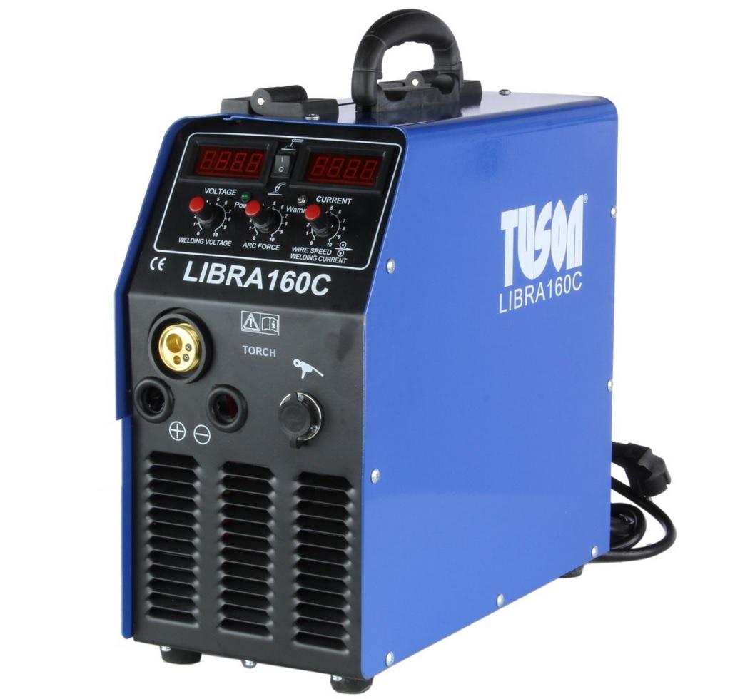 TUSON - Jednofázová svářečka CO2 LIBRA 160C MMA/MIG/MAG