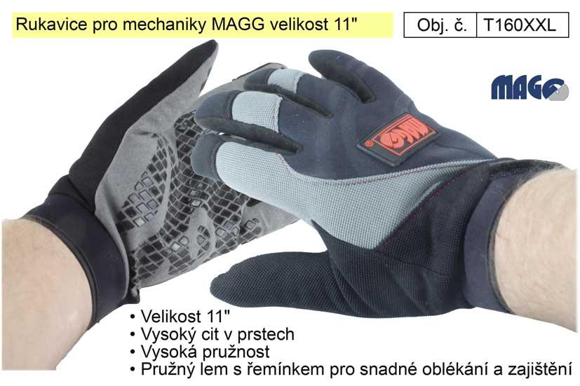 "Rukavice pro mechaniky MAGG velikost 11"""