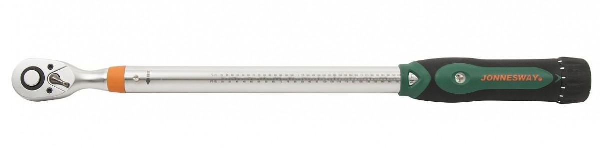"""Momentový klíč 1/2"""" 60-340 Nm, přesný s certifikátem - JONNESWAY T21340N Nářadí 3Kg T21340N"""