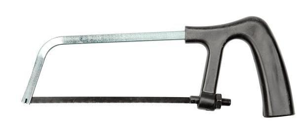 Pila na kov , pro pilový list délky 150 mm, s kovovou , Vorel