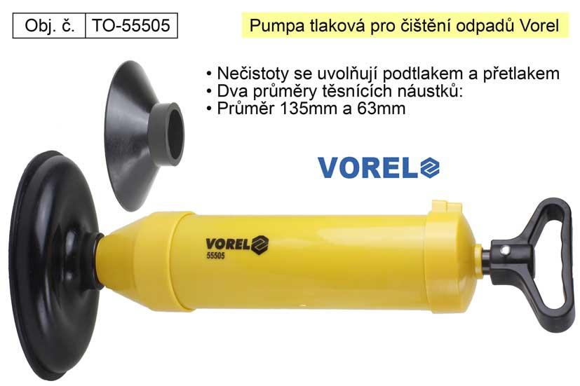 Pumpa na čištění odpadů Vorel 55505