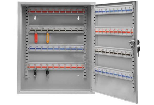 Schránka na klíče, pro 80 klíčů, velikost 450 x 380 x 80 mm, Vorel