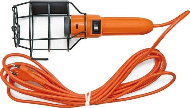 Světlo pracovní (přenoska) 230 V 100 W s košem Vorel