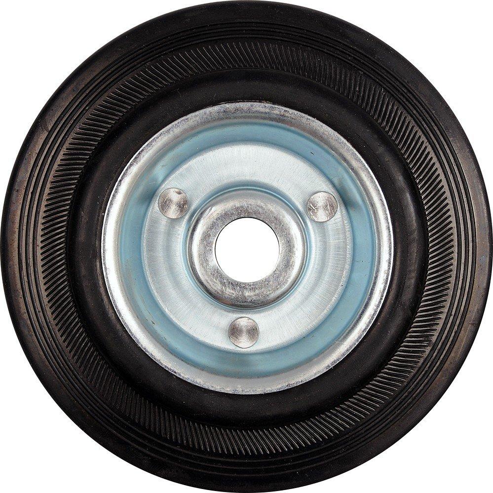 Kolečko gumové černé 60kg  100/26mm prům.12x40mm