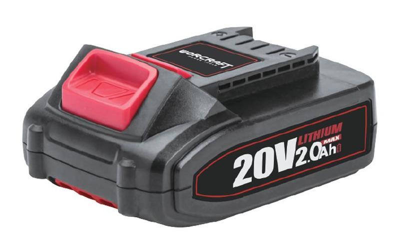 Akumulátorová baterie 20V Li-ion 2000mAh Worcraft CLB-20V-2.0 pro set S20Li