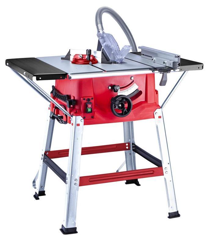 Pila stolní kotoučová na dřevo elektrická 250 mm, 2000 W Worcraft TS-2000A + 2 KOTOUČE