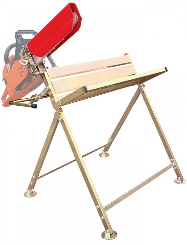 STREND PRO - Koza s držákem na řetězovou pilu - podstavec stojan pro řezání dřeva (120009)