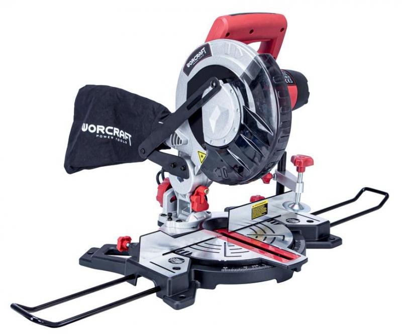 WORCRAFT MST14-210, pokosová pila 1400W, 210mm, laser