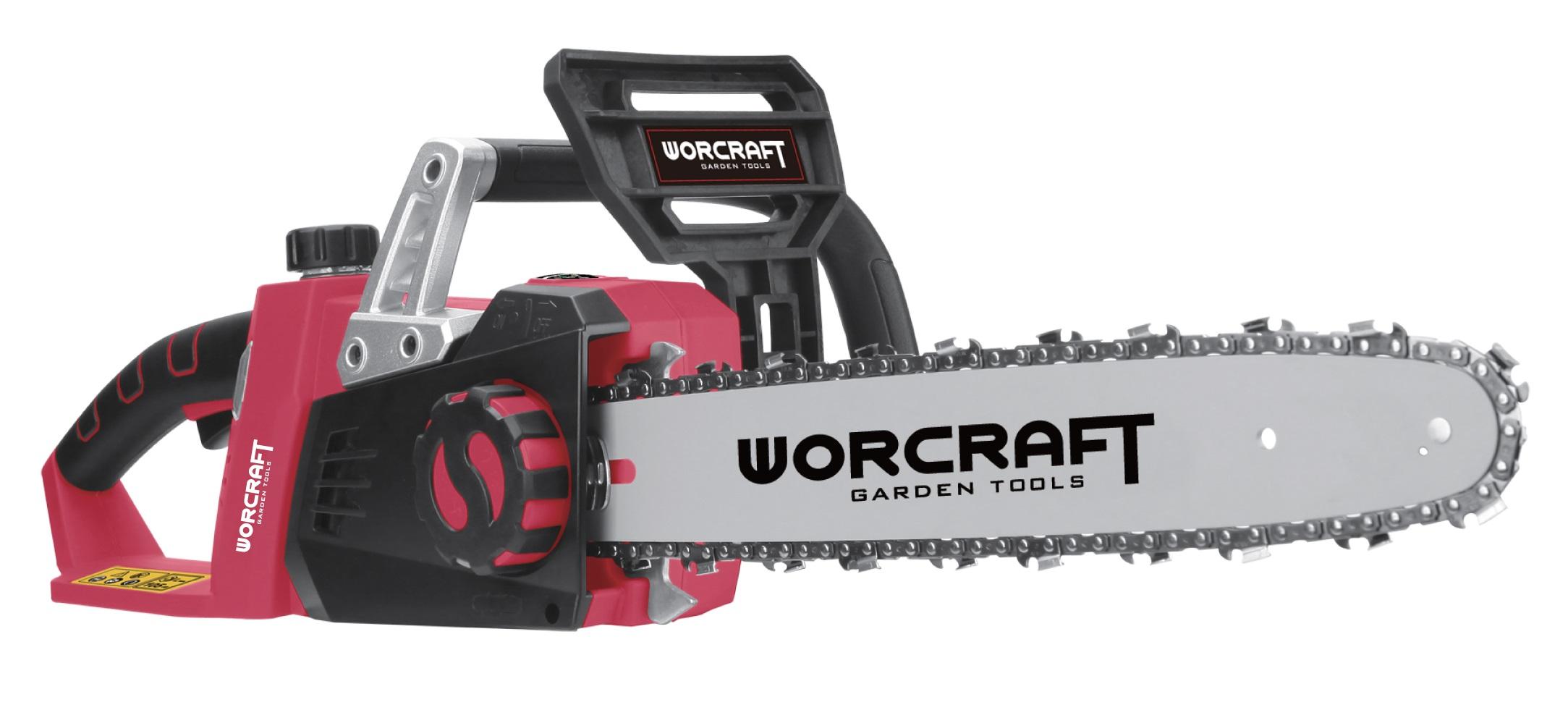 Aku řetězová pila 35cm Worcraft (S20Li) CGC-S40Li bez baterie a nabíječky (114329)