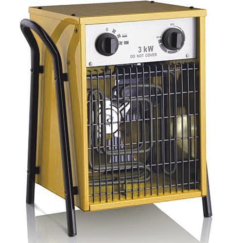 Elektrické topidlo ohřívač 15kW/400V s horkovzdušným ventilátorem 1250m3/h