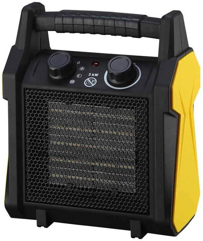 Elektrický přímotop 3kW / 230V topidlo ohřívač Strend Pro 119513 Nářadí 2.2Kg TR119513