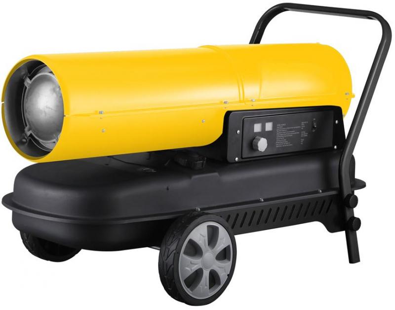 Naftové topidlo hrokovzdušná turbína 50 kW ohřívač, přímotop STREND PRO