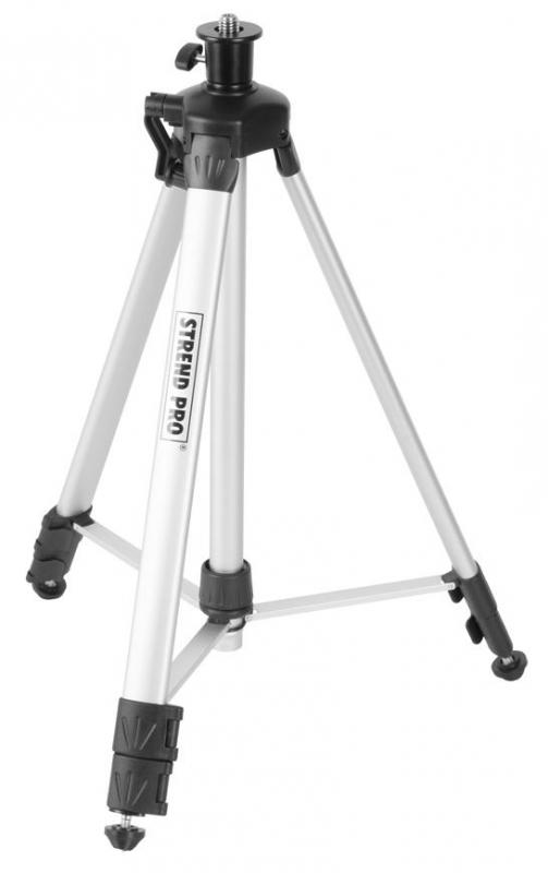 """Stativ tripod pro křížový nivelační laser 580-1500mm, závit 5/8"""" Nářadí 1.7Kg TR213360"""