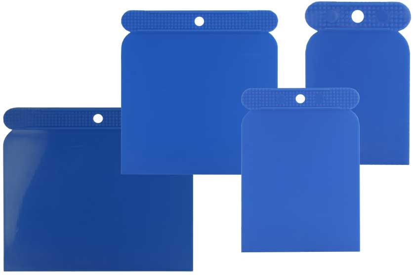 Špachtle japonské plastové šíře 50 / 80 / 100 / 120mm sada 4 kusy 2160328