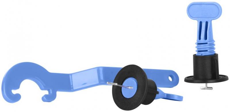 STREND PRO Set pro pokládání dlaždic 50x úchyt, 1x plastový klíč