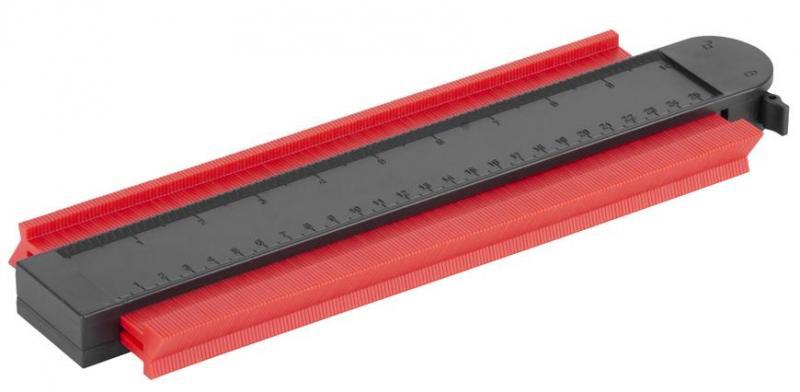 Šablona kopírovací na profily, se zámkem, magnetická, šíře 250 mm, STREND PRO DG680