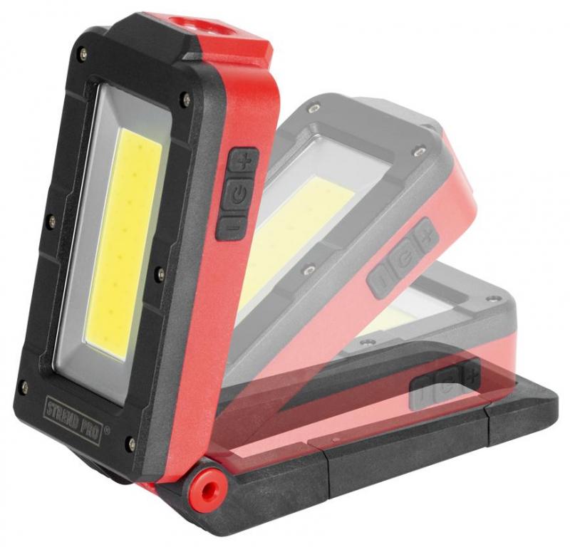 STREND PRO Svítilna pracovní COB LED 3W/100+250lm, nabíjecí USB (TR2171961)