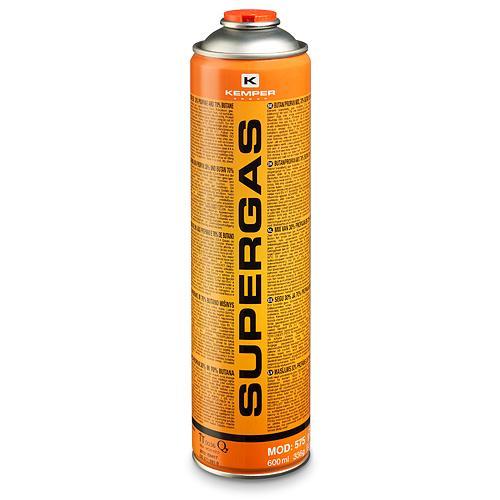 """Plynová kartuše 336g / 600 ml se závitem 7/16"""" Supergas 1900°C"""