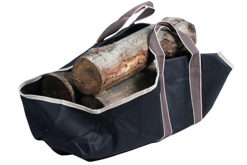 Taška na dřevo ke krbu 71x35cm nosnost 25kg Strend Pro 221372