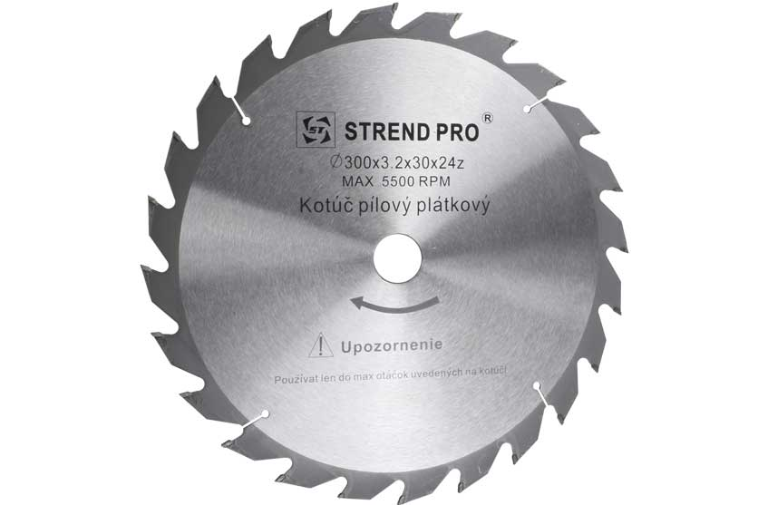 Pilový kotouč s SK plátky 300x30mm 24 zubů Strend Pro
