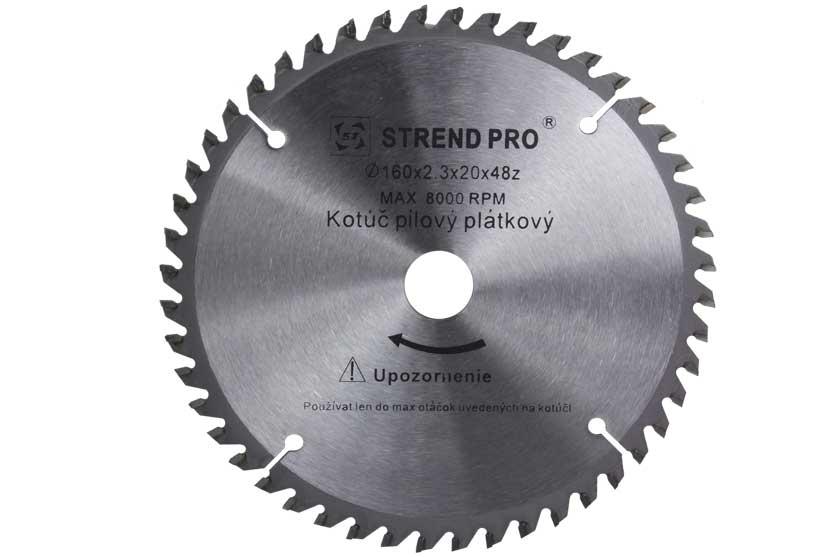 Pilový kotouč s SK plátky 250x30x3,2mm 40 zubů Strend Pro