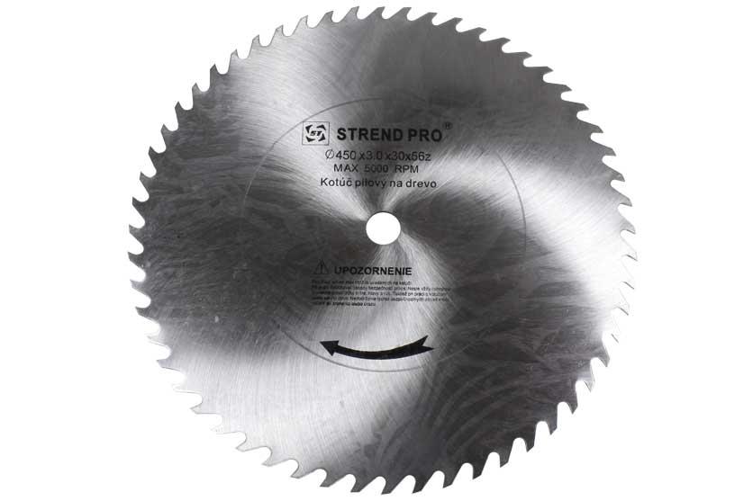 Pilový kotouč ocelový CV 450x3,0x30mm 56 zubů pro řezání dřeva