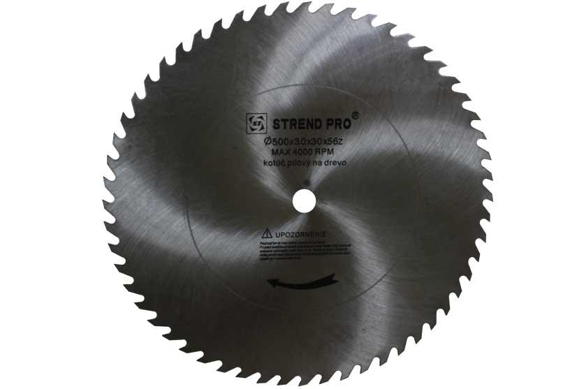 Pilový kotouč ocelový CV 500x3,0x30mm 56 zubů pro řezání dřeva