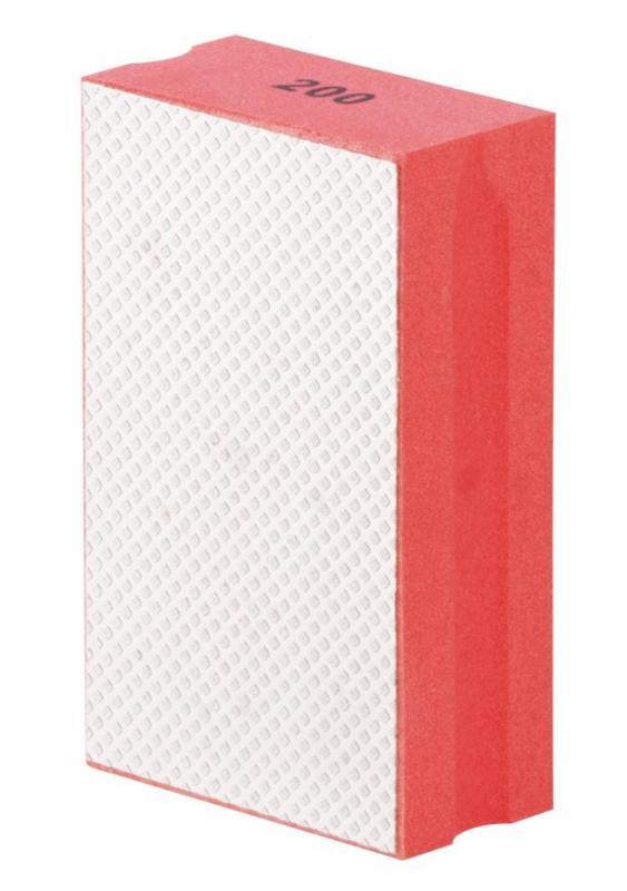 Strend Pro DP510 Diamantová Btrusná houbička 95x55x30mm, P200, pro obkladače Nářadí 0.08Kg TR2231868