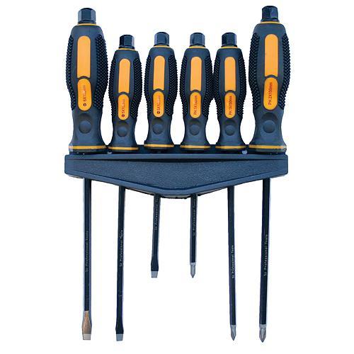 Šroubováky úderové sada 6 kusů Strend Pro Nářadí 0.9Kg TR2250005