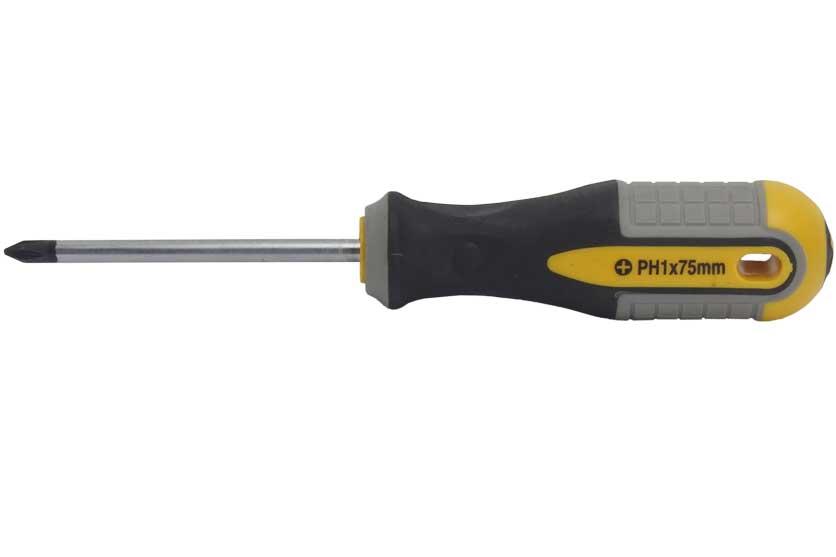 Šroubovák křížový PH 1 x 75 mm, Strend  Pro